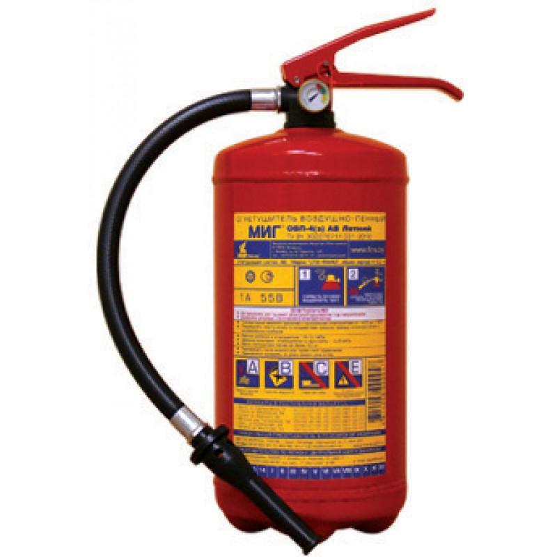Огнетушитель ОВП-4 (морозостойкий)