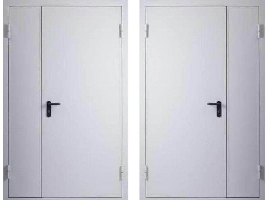 Дверь противопожарная EI60 двупольная